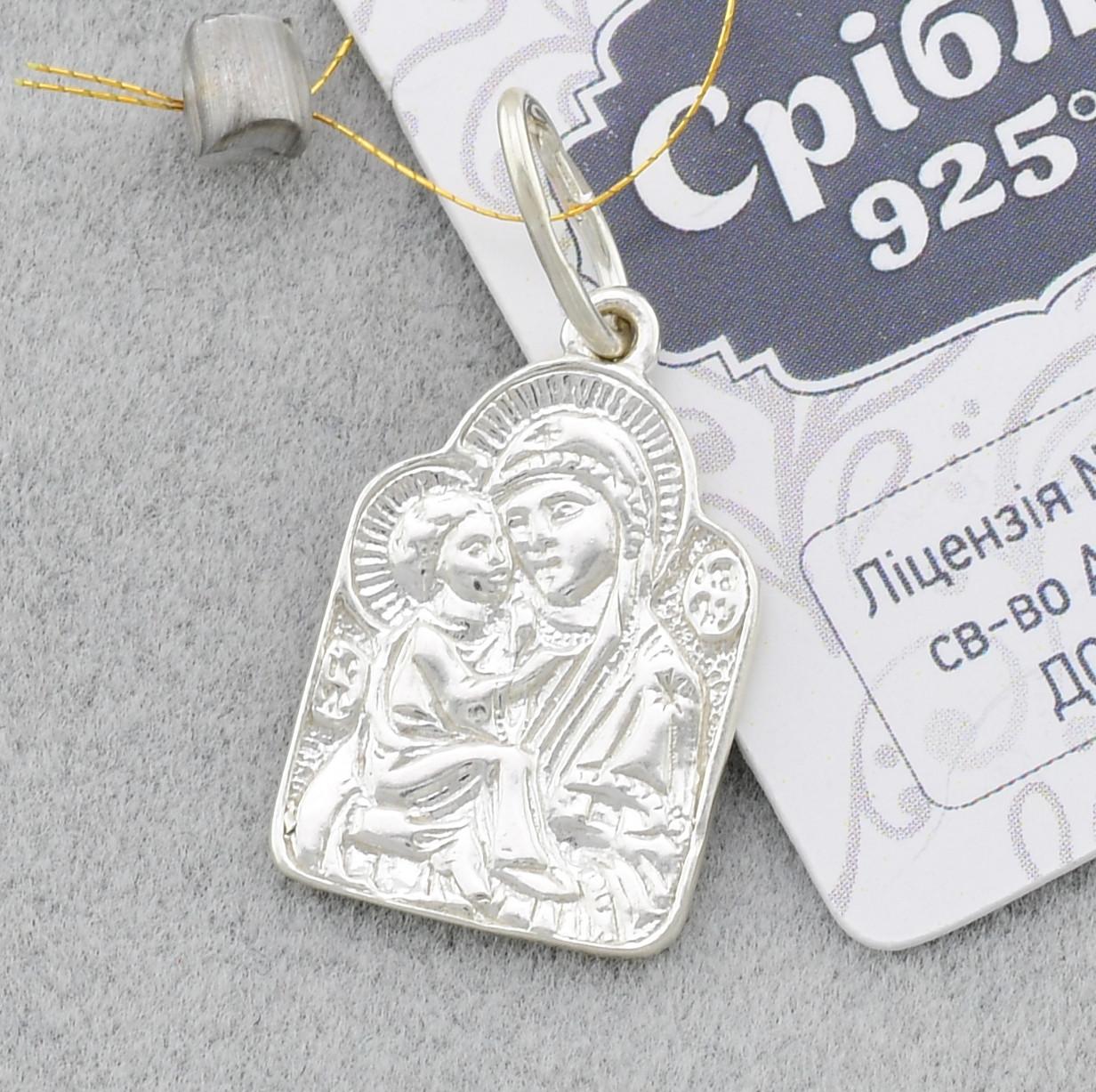 Серебряная иконка 3228, размер 20*12 мм, вес 1.88 г