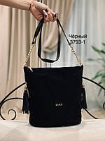 Сумка торба женская из замши