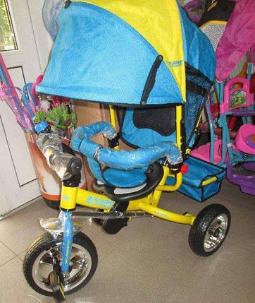 Детский трехколесный велосипед Profi Trike M5363-01 UKR (колеса пена), фото 2