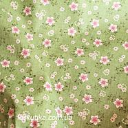 24035 Остролистник. Ткань в цветочек. Ткани для пэчворка, для квилтинга и шитья., фото 2