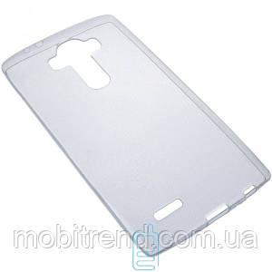 Чехол силиконовый Slim LG G4 прозрачный