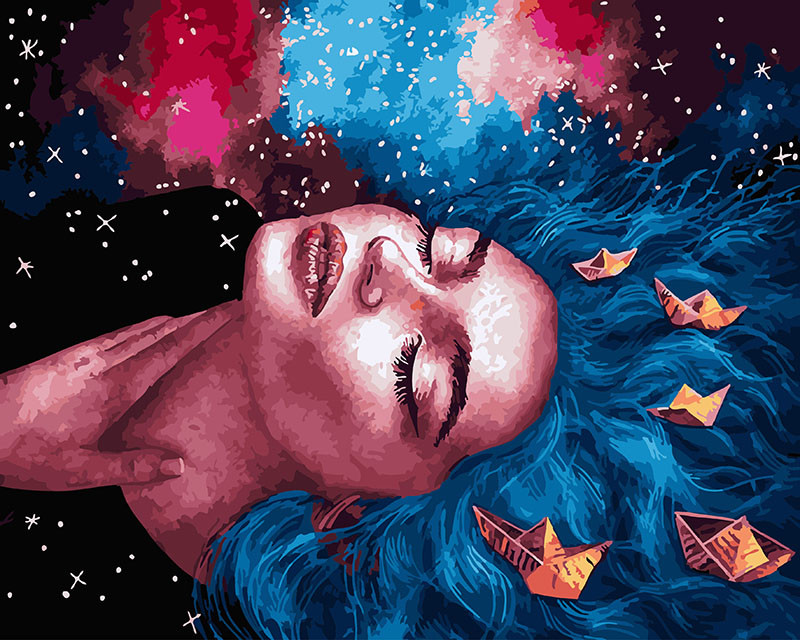 Картина по номерам Пристрастие моря, 40x50 см., Brushme