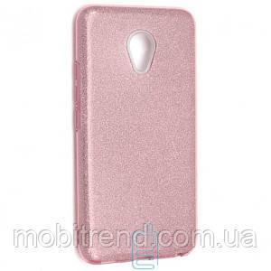 Чехол силиконовый Shine Meizu M5 розовый
