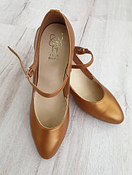 Туфли женские Стандарт (бежевая кожа)