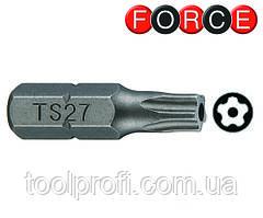 Бита 5-лучевая с отверстием TS10 L=25 мм