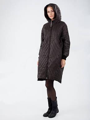 Женская демисезонная куртка в стиле оверсайз CW19C719CW цвета хаки - новая коллекция CLASNA, фото 2