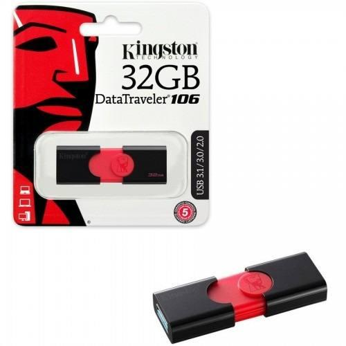 USB флеш пам'ять Kingston DataTraveler 106 32GB USB 3.1 (DT106/32GB)