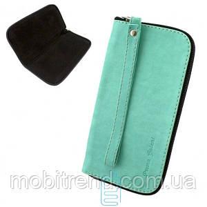 Универсальный чехол-сумка Prima Galant размер L - 5″ бирюзовый
