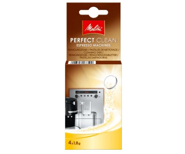 Таблетки для очистки кофемашины от масел и жиров Melitta PERFECT CLEAN 4 шт