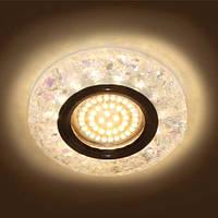 Декоративный светодиодный светильник Feron 8585-2  белый  с LED  подсветкой