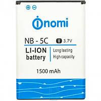 Аккумулятор 100% оригинал Nomi NB-5C i177/ i180/ i181 сервисный оригинал