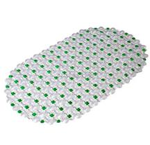 Силиконовый коврик для ванной Зеленый