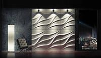 3d панели из гипса Лотос 660х450х30мм