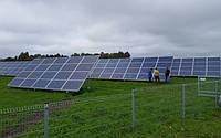 Наземная система креплений 20 панелей/5 кВт, 4 рядная на одной стойке , фото 1