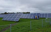 Система креплений солнечных батарей для наземного размещения 20 шт (5 кВт)