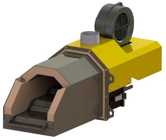 Пеллетная горелка Kvit Optima P 300 кВт для промышленного котла (факельный тип, Польша)