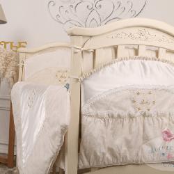 Карман на детскую кроватку ТМ Маленькая Соня Версаль кофейный