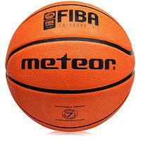 Мяч баскетбольный METOR TRENING 8 PAN FIBA 070011