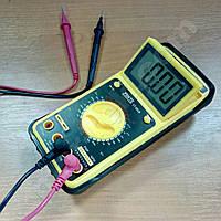Цифровой мультиметр YINTE YT-0828 (1000В, 200МОм, 20А, 200мкФ, hFE) c откидным экраном аналог DT9205A, фото 1