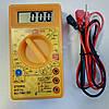 Цифровой мультиметр DT830D (до 1000В, 10А, 2МОм, звуковая индикация)