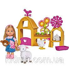 Кукла Еви Набор Счастливая ферма Evi Simba 5733075