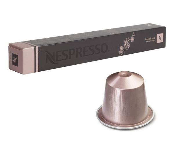 Кофе в капсулах Nespresso Rosabaya de Colombia (тубус) 10 шт