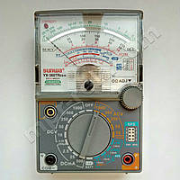 Мультиметр аналоговый SUNWA YX-360TRES-H (1000В, 10A, 2МОм, hFE, тест батарей, прозвонка)