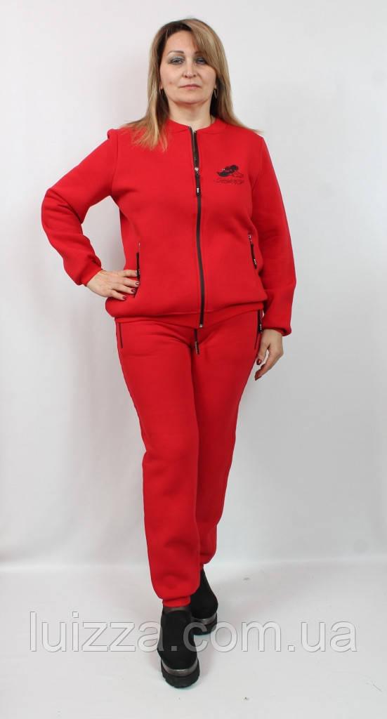 Женский костюм на флисе Турции 50-56р Marisis