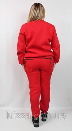 Женский костюм на флисе Турции 50-56р Marisis, фото 2