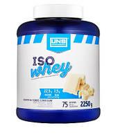 Сывороточный изолят UNS - Iso Whey (2250 грамм) white chocolate/белый шоколад