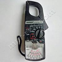 Клещи токоизмерительные аналоговые SUNWA 2608 (AC300A, AC600В, DC60В, 10кОм, Ø40мм)