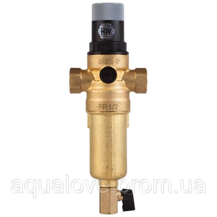 Сетчатый комбинированный фильтр (в блистере) для горячей воды atoll FK06-1/2AM