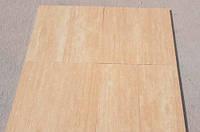 Бежевая плитка из травертина Vein Cut 1,2х30.5х61