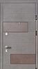 Двери Вулкан венге серый Стандарт «СТРАЖ» (Украина)