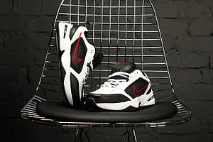 "Мужские кроссовки Nike Air Monarch IV ""Black/White \ Найк Монарх \ Чоловічі кросівки Найк Монарх"