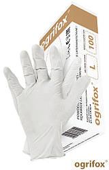 Перчатки латексные OGRIFOX OX-LAT размер M