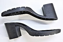 Подошва для обуви женская 8246 чорна р.36-41, фото 2