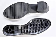 Подошва для обуви женская 8246 чорна р.36-41, фото 3