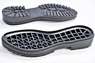 Подошва для обуви женская 8260 чорна р.36-41, фото 2