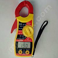 Токоизмерительные клещи YINTE YT-0863 (600A, 450/600В, 200кОм, прозвонка)