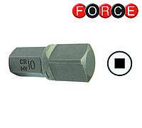 Бита квадрат 8 мм L=30 мм (Force 174S3008)