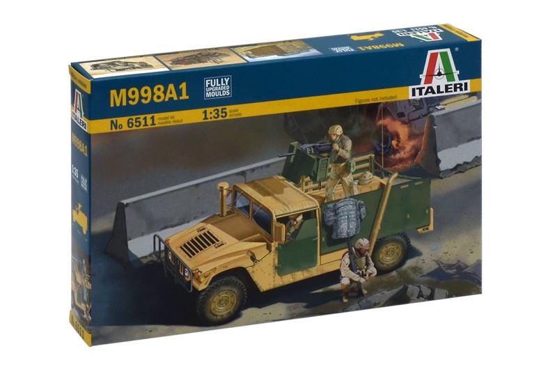 M998A1. Збірна модель військового автомобіля в масштабі 1/35. ITALERI 6511