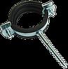 "S-Хомут 3/4"" (25-28мм) с шурупом 7×70мм стальной ЦБ"