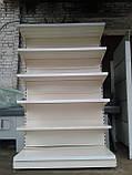 Стеллаж металлический 6,75  м. стеллаж б/у., фото 3