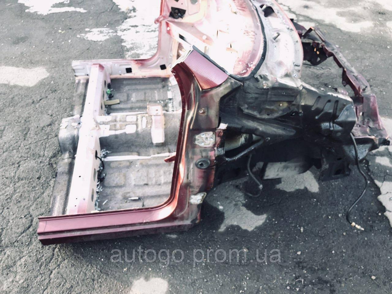 Передняя часть кузова Лонжерон Телевизор Daewoo Matiz 3