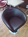 Кресло парикмахера Мурат Нью черное, фото 7