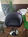 Кресло парикмахера Мурат Нью черное, фото 4