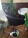 Кресло парикмахера Мурат Нью черное, фото 6