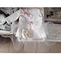Комплект в коробке на выписку и крещение для девочек, фото 1