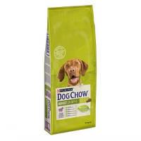 Корм для взрослых собак Dog Chow Adult Дог Чау с ягнёнком и рисом 14 кг
